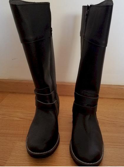 Zapato - Botas Caña Alta Pink Indira T 39 Negro