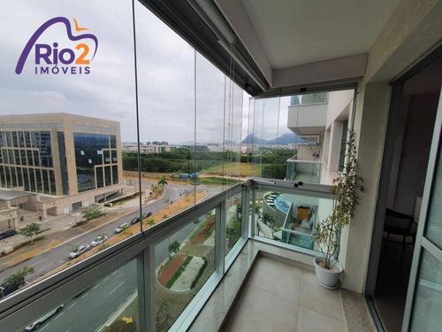 Imagem 1 de 30 de Apartamento Com 2 Dormitórios À Venda, 77 M² Por R$ 599.000,00 - Jacarepaguá - Rio De Janeiro/rj - Ap0500