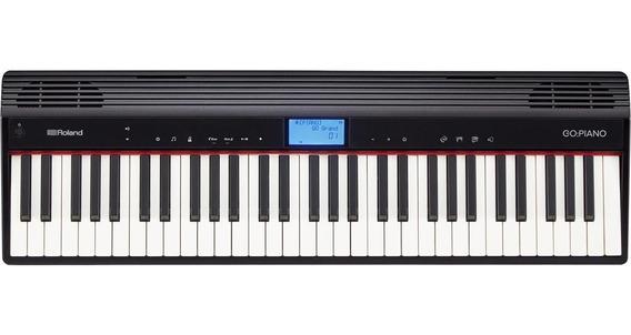 Teclado Roland Sintetizador Digital Go Piano 61 Go61p