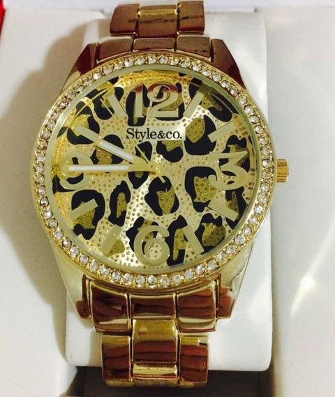 Relógio Style & Co Dourado