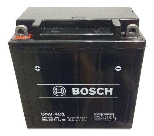 Imagen 1 de 1 de Bateria Mondial Hd250 12n9 4b Bosch Bn9-4b1 12v 9ah 137 * 76