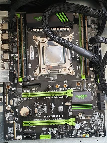 Kit Gamer Barato! Placa X79 Xeon E5 2689 2,6ghz 32 Gb Ram