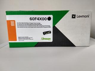 Toner Lexmark 60f4x00 Color Negro Nuevo Original