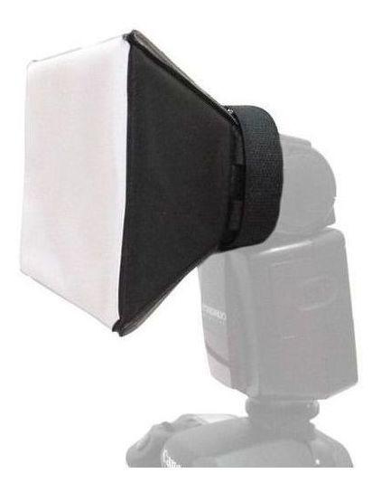 Difusor Flash Mini Softbox Pixco Dobravel Canon Nikon Sony