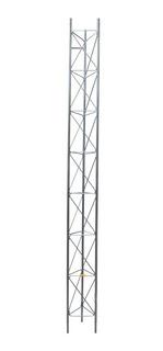 Tramo De Torre Arriostrada 300x30 Cm Galvanizado Zonas Secas