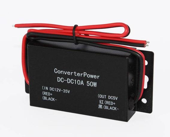 Conversor Dc-dc - 12-35v P/ 5v - 10a