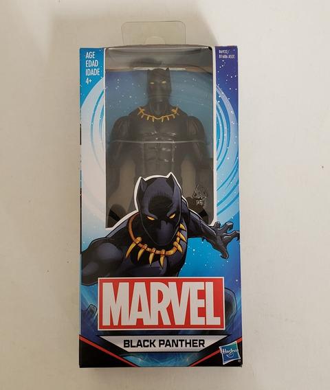Boneco Pantera Negra Black Panter Marvel Hasbro Original
