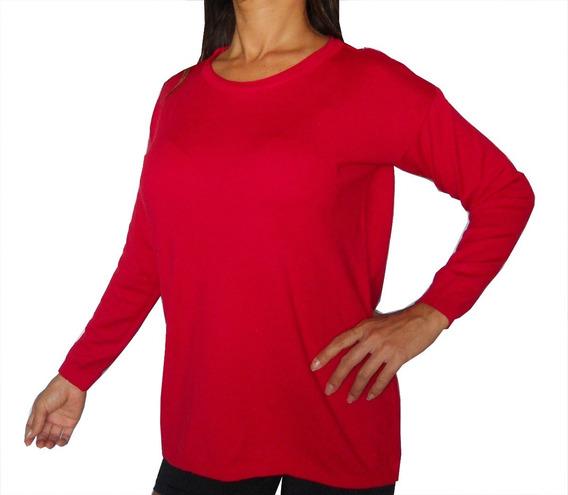 Sweater Bremer Lycra Cuello Redondo Clasico Abrigado Comodo!