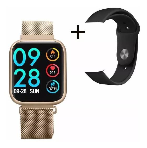 P80 Smart Watch Monitor De Presión Arterial Frecuencia Card