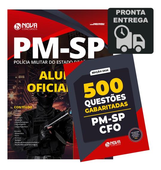 Apostila Pm-sp Formação Oficiais + 500 Questões Cfo Livro