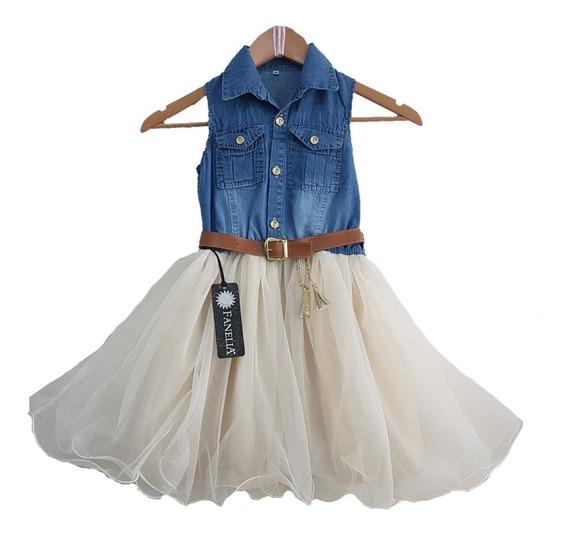 Vestido De Niña Paris