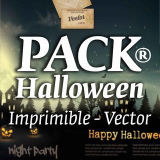 Halloween Vectores Imagenes Imprimibles X 50 Excellence