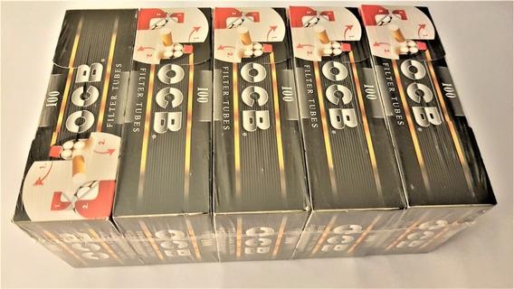 Tubos Con Filtros Para Armar Cigarrillos (5 Cajas 500 Tubos)