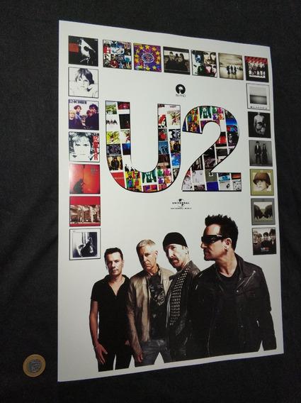 Poster De Coleção U2 Achtung Vinil U2 Banda U2 Arte Lp U2