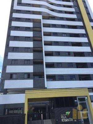 Apartamento Com 3 Dormitórios À Venda, 70 M² Por R$ 290.000 - Serraria - Maceió/al - Ap0467