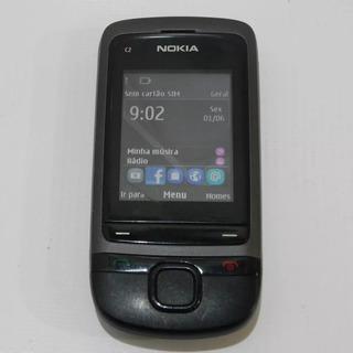 Nokia C2-05 2g Desbloqueado Bluetooth Câmera Symbian Usado