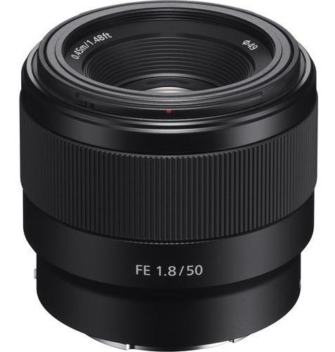 Lente Sony Fe 50mm F/1.8 - Lacrada Na Caixa Com Nota Fiscal