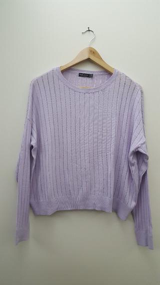 Sweater Fino Importado Marca Bershka Talle M