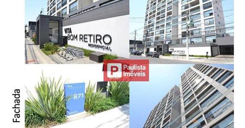 Apartamento Com 1 Dormitório À Venda, 30 M² Por R$ 320.000,00 - Bom Retiro - São Paulo/sp - Ap31050