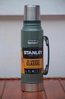 Termo Stanley Classic 1 Litro 1.1 Qt Verde 24hs Frío / Calor
