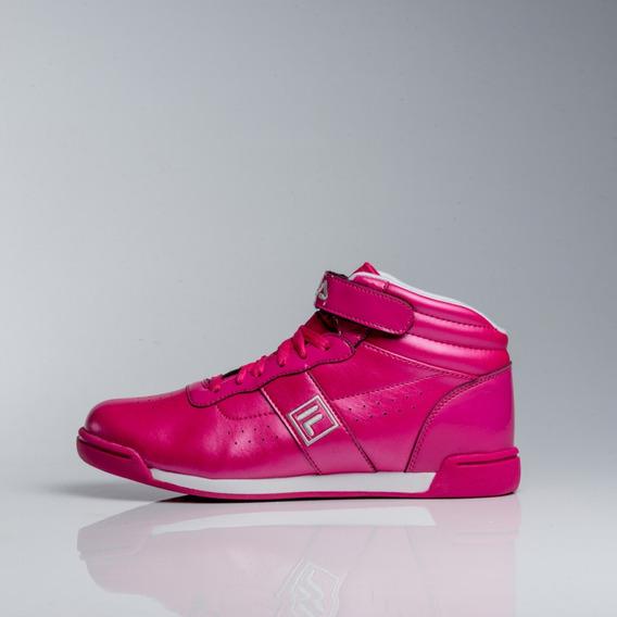 Zapatillas Fila F16 High Fuxia O Violeta Botitas