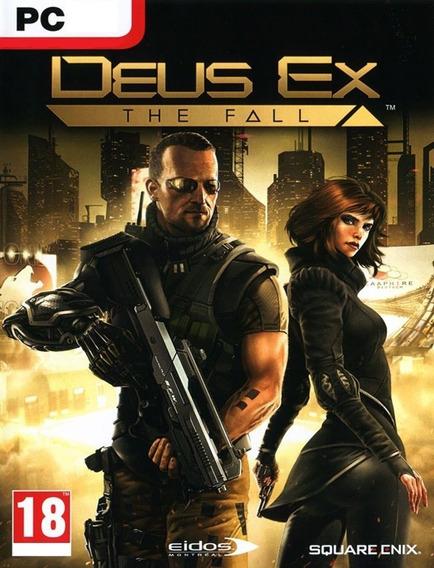 Deus Ex The Fall Pc - Steam Key (envio Rápido)