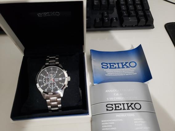 Relógio Seiko Cronograph 100m
