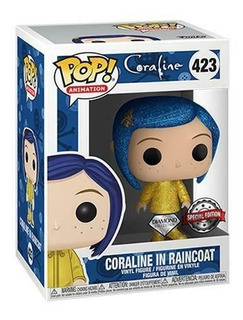 Funko Pop Coraline In Raincoat Diamond Collection Hot Topic