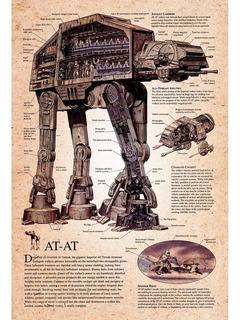 Placa - Decorativa - Grande - Star Wars - Filme - (gv113)