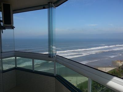 Apartamento Impecável Praia Grande C/ Vista Do Mar