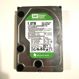 Disco Rígido Hdd Western Digital 1tb Green Wd10ears