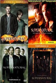 Série Sobrenatural 9, 10, 11 E 12 Temporadas Completas