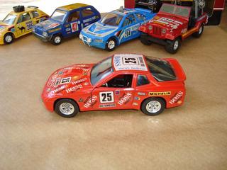 Miniatura Porsche 924 - 1/24 - Burago Italy Raro #2248