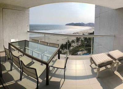 Cad Residencial Playamar 801. Terraza Con Vista Al Mar