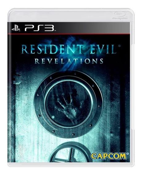 Resident Evil Revelations Ps3 Mídia Física Pronta Entrega