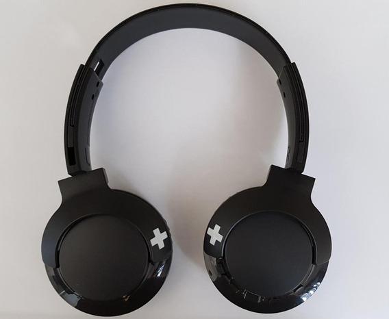 Fone De Ouvido Philips Bluetooth Preto Sem Fio Shb3075bk/00