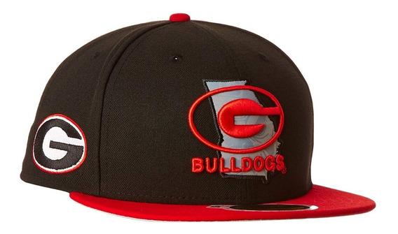 Gorra New Era 59fifty Snapback Bulldogs Logo Reflectivo