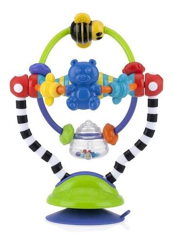 Movil Interactivo Nuby Con Sopapa Silly Spinwheel Sonajero