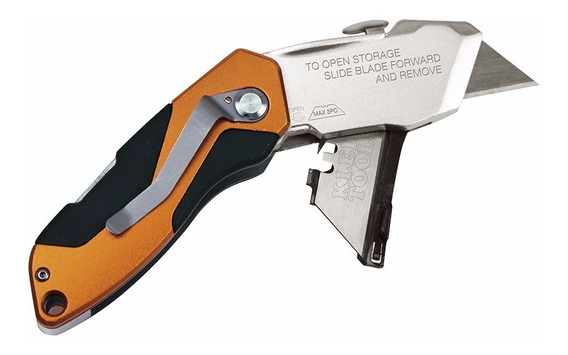 Navaja Retráctil Plegable Auto-carga 44130 Klein Tools Envio