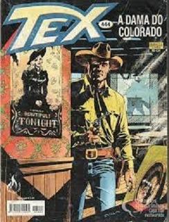Gibi Tex 444 445 Historia Completa 1a Edicao Dama Colorado