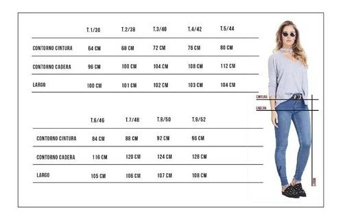Pantalon Jeans Elaztizado Mujer Alto Talles Grandes Y Chicos De 36 Al 56  Chupin Precio Directo De Fabrica | Mercado Libre
