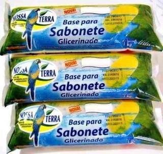 Glicerina Nossa Terra 1kg Blanco Y Transparente