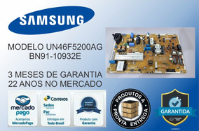 Placa Fonte Tv Samsung Un46f5200 Un46f5500 Bn44-00610a