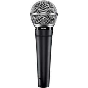 Microfone Shure Sm48lc Original 2 Anos Garantia