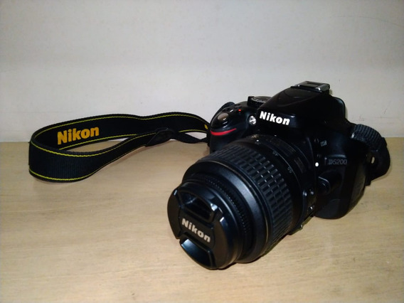 Câmera Nikon D5200 Com Lente Kit 18-55mm