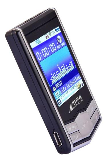 Mídia Player Mp3 Mp4 32 Gb Tela Lcd 1,8