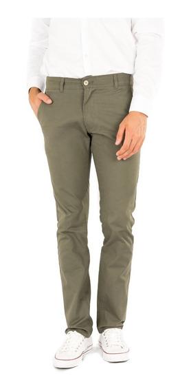 Pantalón Recto Hombre Gabardina- Varios Colores - B A Jeans