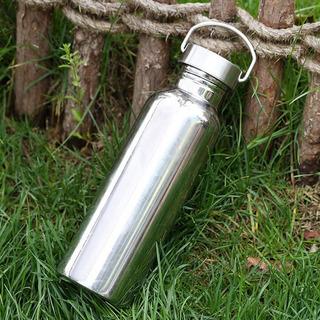 Completo Inoxidável Aço Água Garrafa Água Copo Vazamento - P