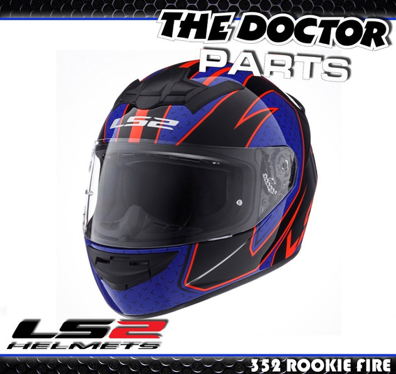 Casco Ls2 Ff352 Rookie Fire Modelos Nuevos 2019 The Doctor !