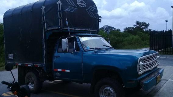 Camioneta Dodge Para Acarreos